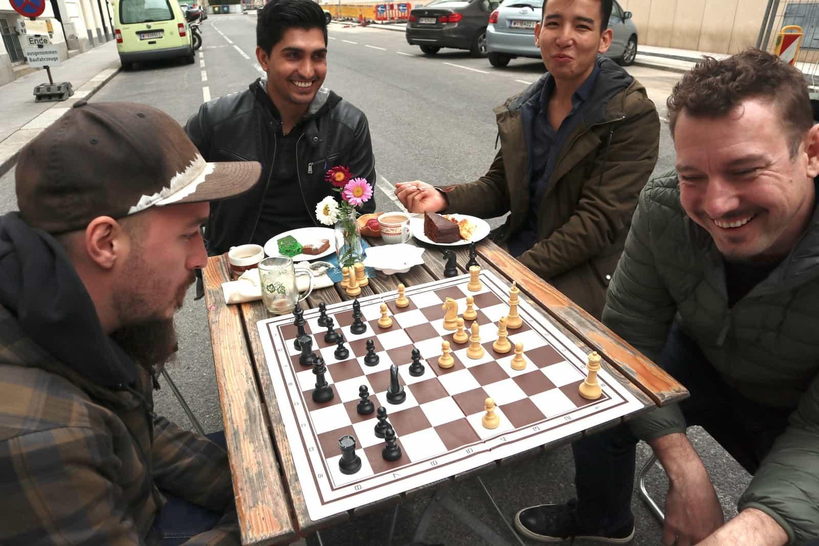 Das sind wir – Martin von der Schachgruppe