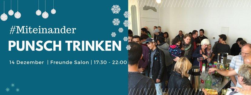 #Miteinander Punsch trinken – 14.12.