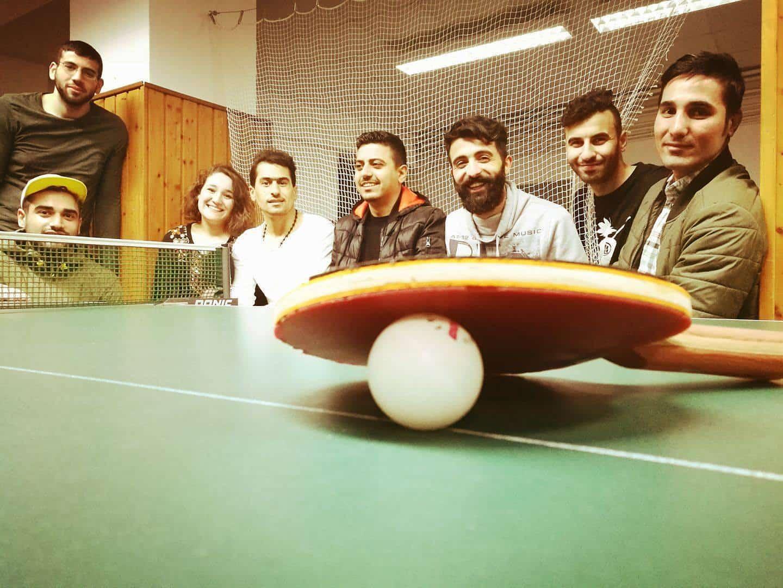 Das sind wir – Hamada von der Tischtennisgruppe