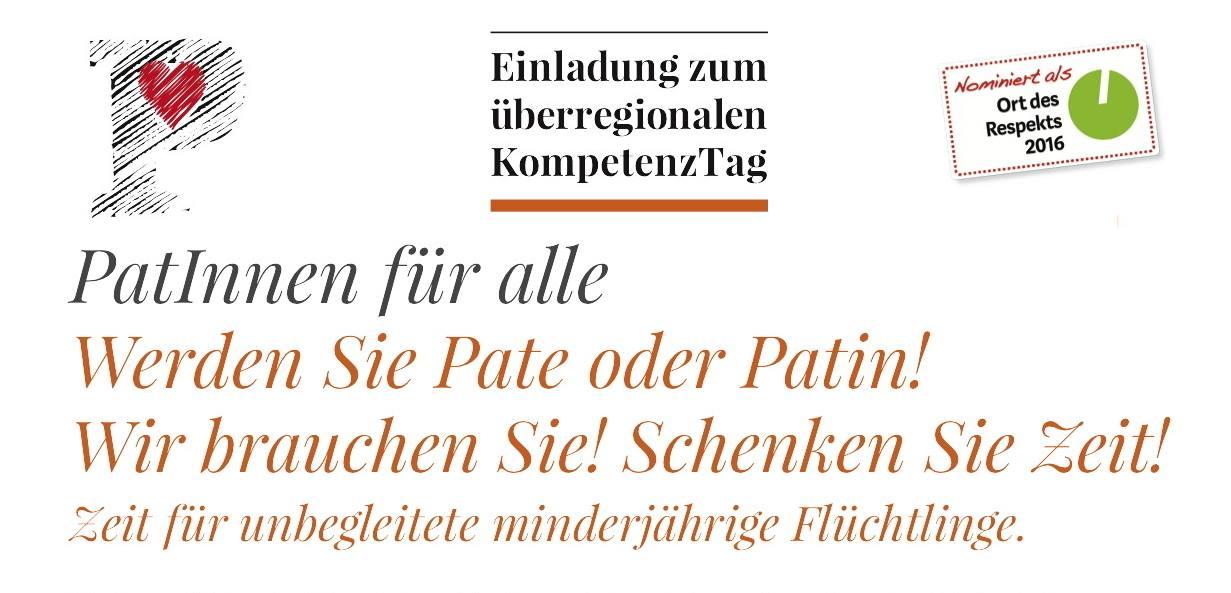 PATINNEN FÜR ALLE – Kompetenztag am 21.10