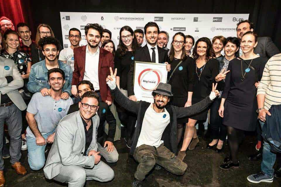 Fremde werden Freunde gewinnt den MigAward 2018