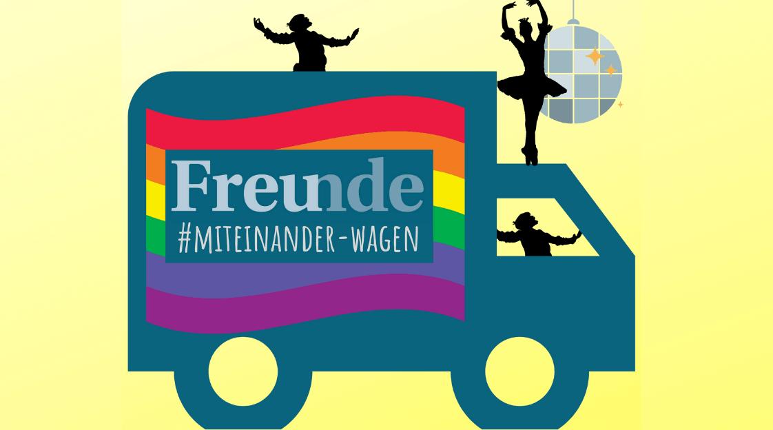 #MITEINANDER – WAGEN auf der Europride Vienna!