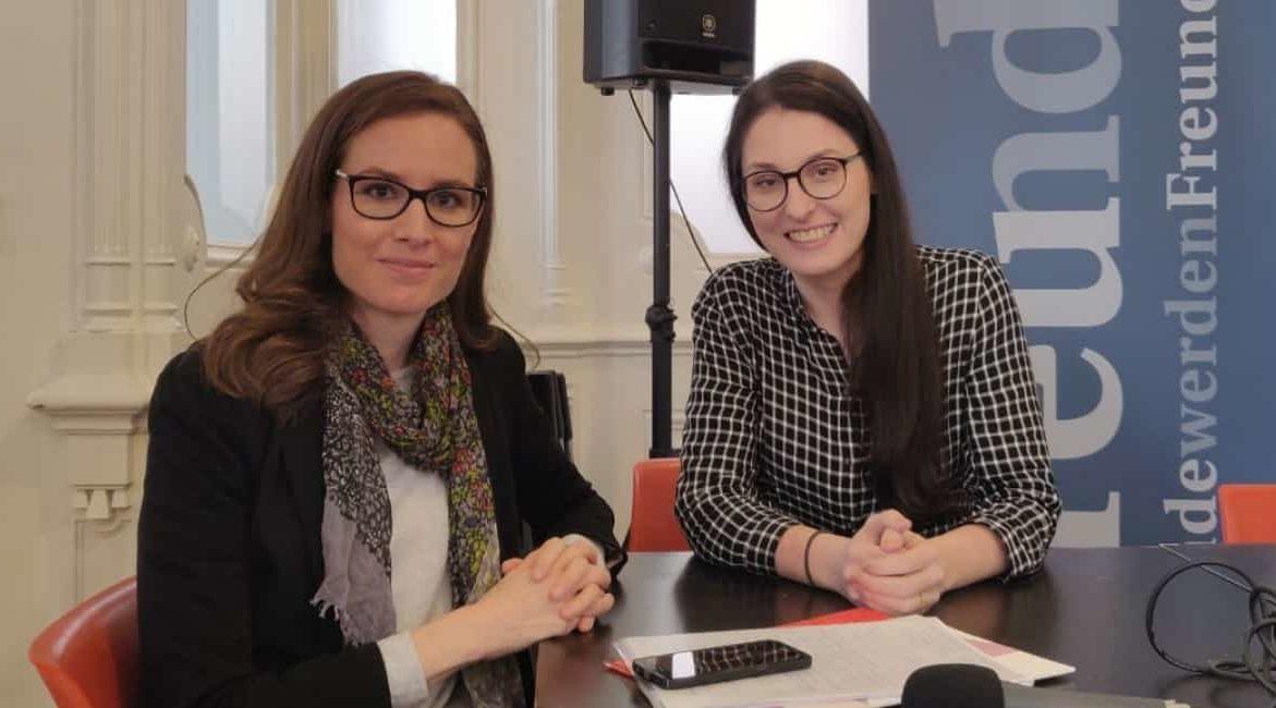 Podcast Salongespräche: Was wir über geflüchtete Menschen wissen mit Judith Kohlenberger