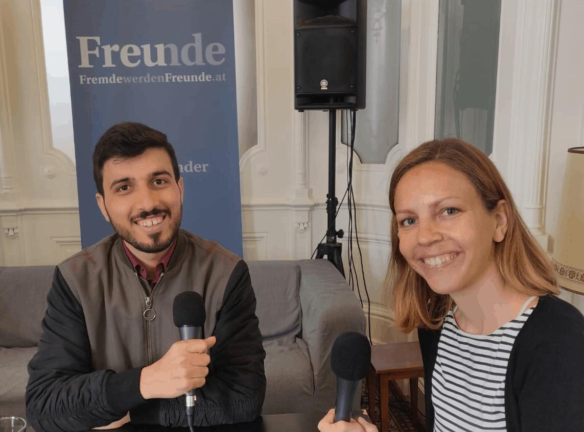 Podcast Salongespräche: Mehr Miteinander mit Ahmad Alhaj Ahmad