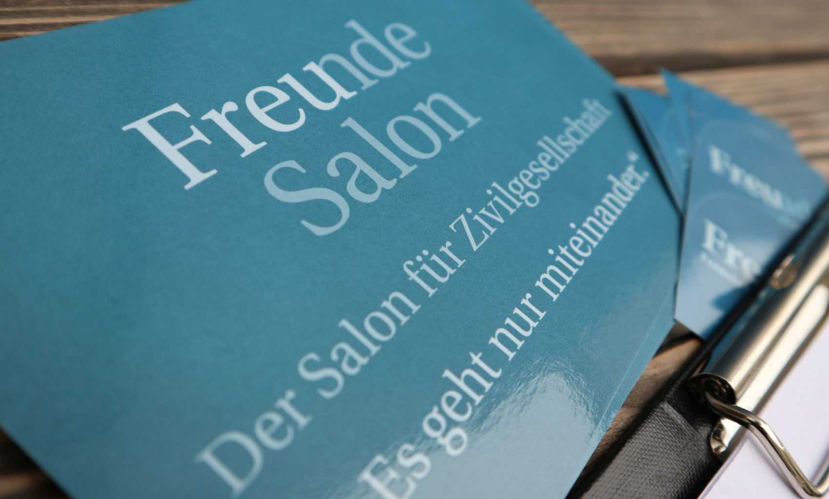 Freunde Salon: Events ab sofort online
