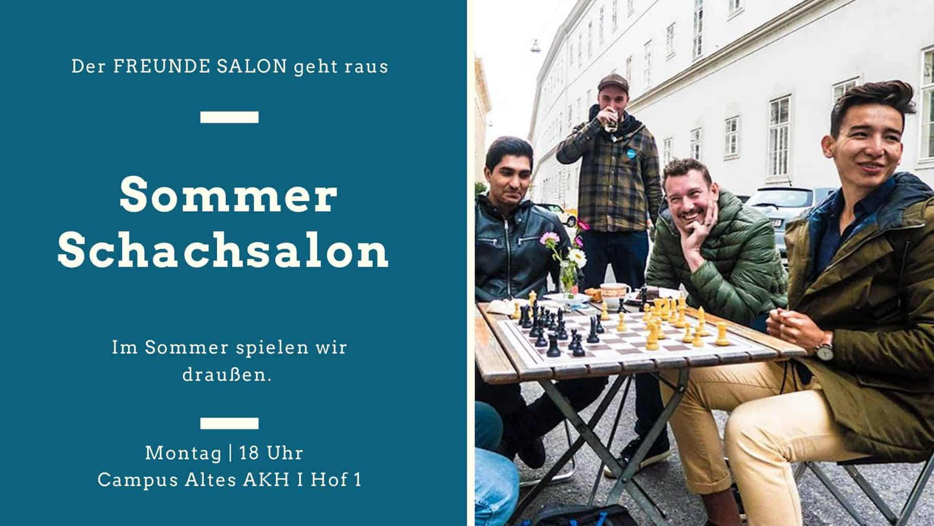 Immer Montags: Sommer Schachsalon