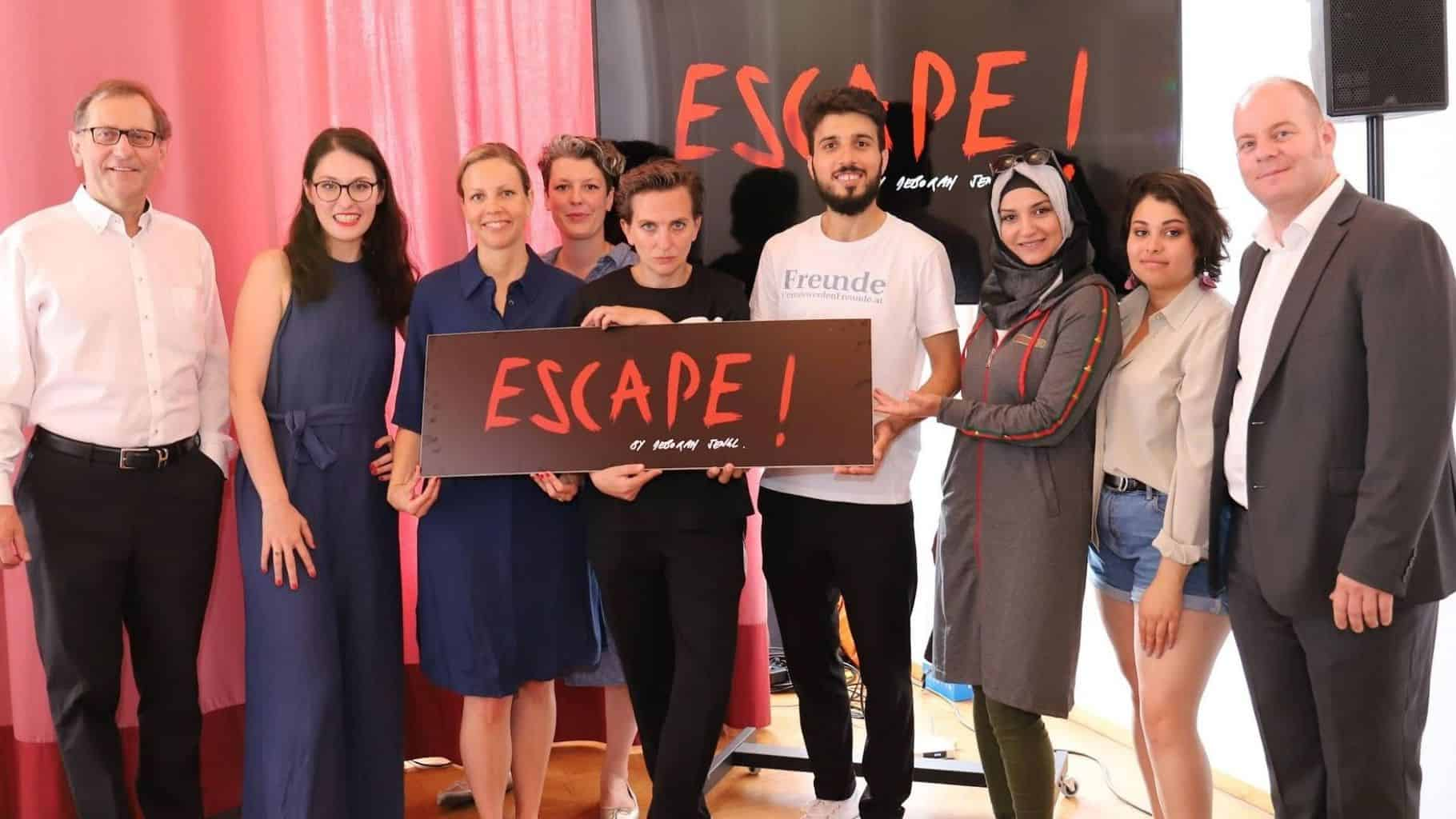 Podcast Salongespräche: Escape! by Deborah Sengl