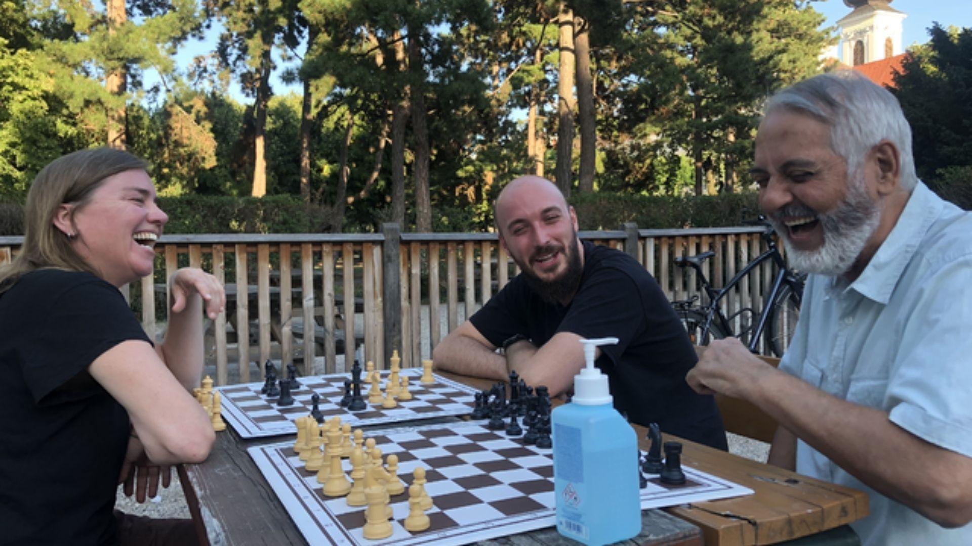 Montags – Schachsalon im Bezirksmuseum