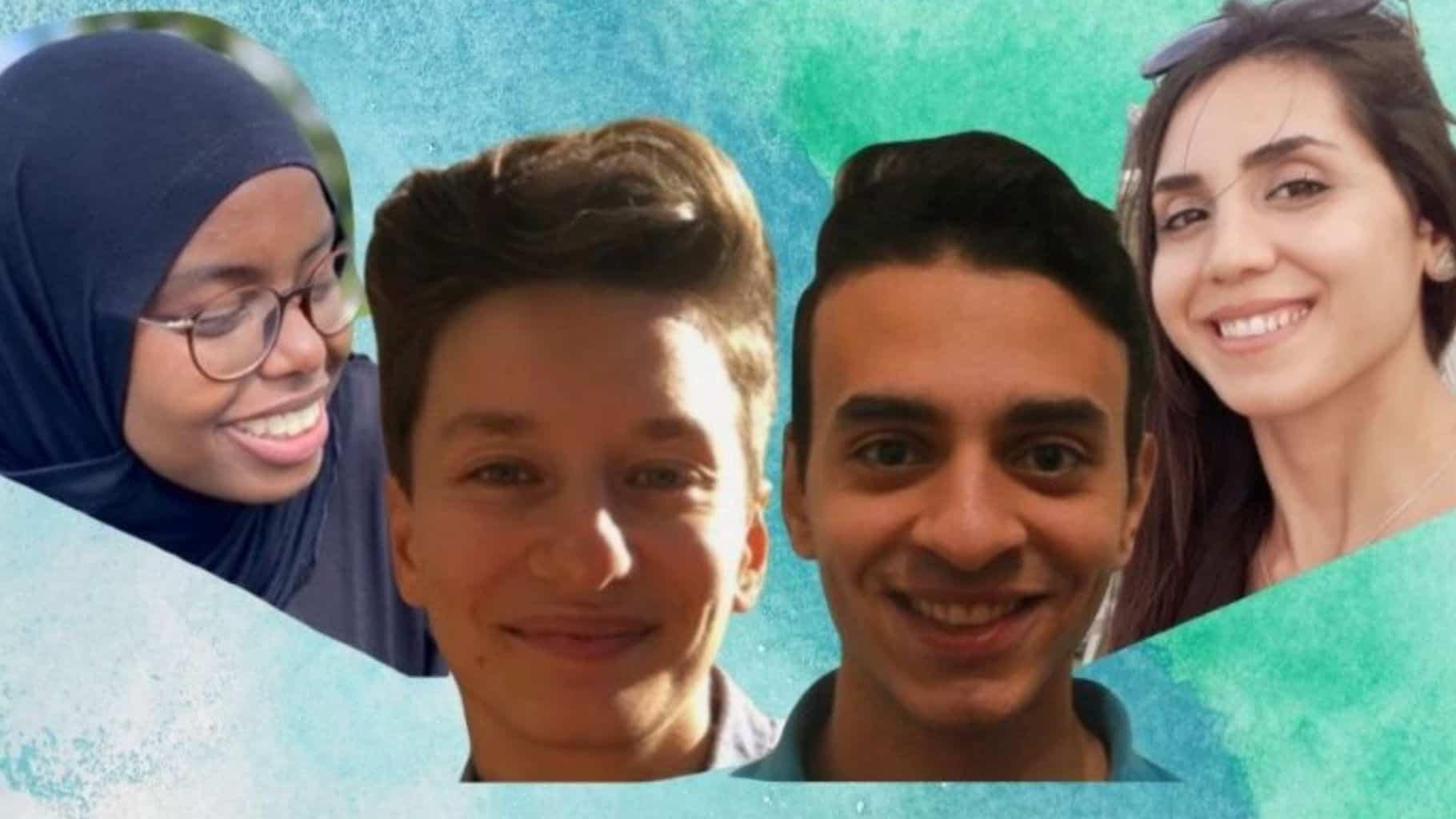 Unsere vier neuen Community Manager*innen