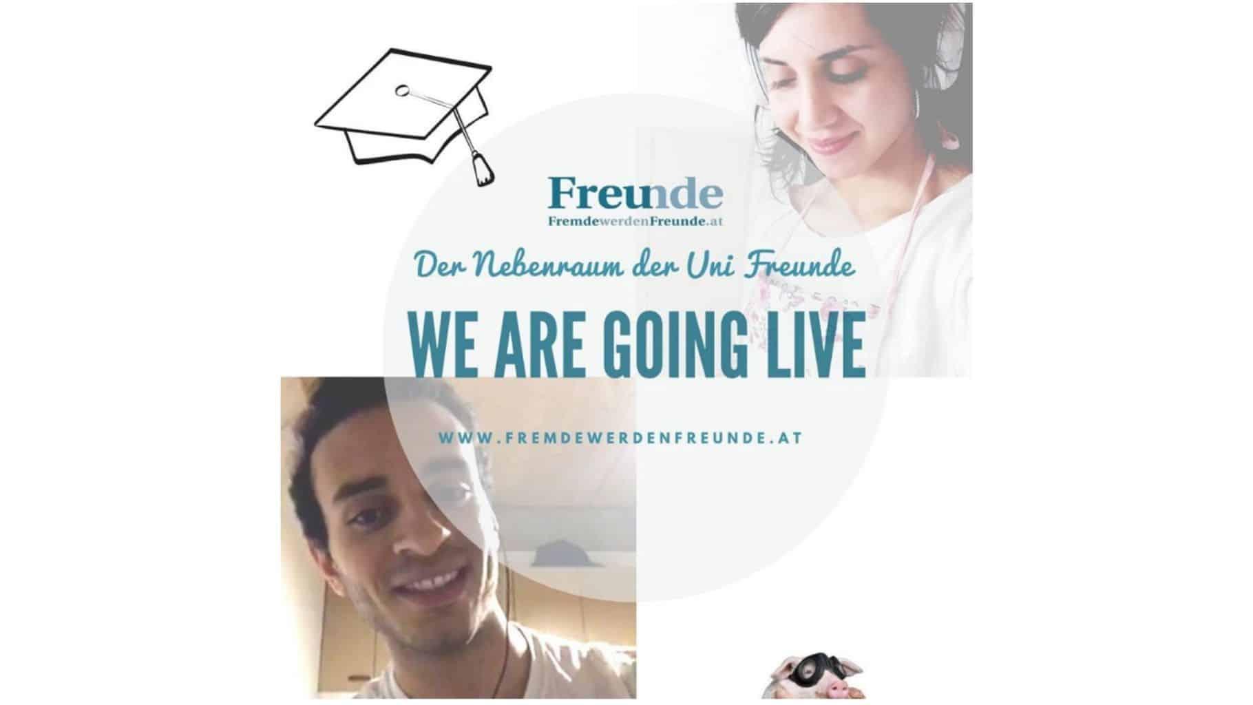 Livetalk Uni-Freunde Instagram