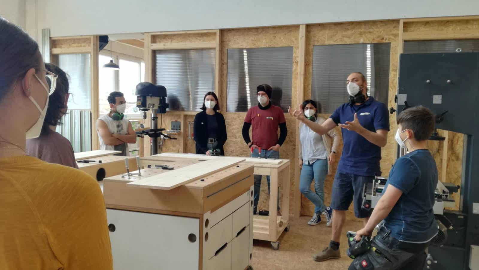 Ein Tag im Werksalon Co-Making Space