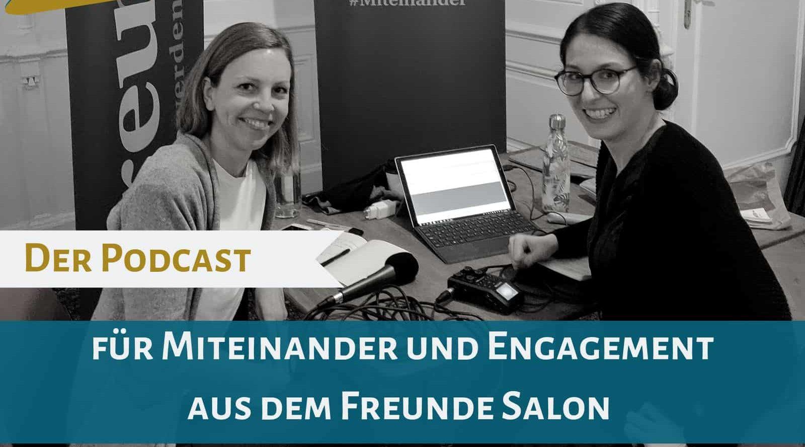 Podcast Salongespräche: Miteinander tun!