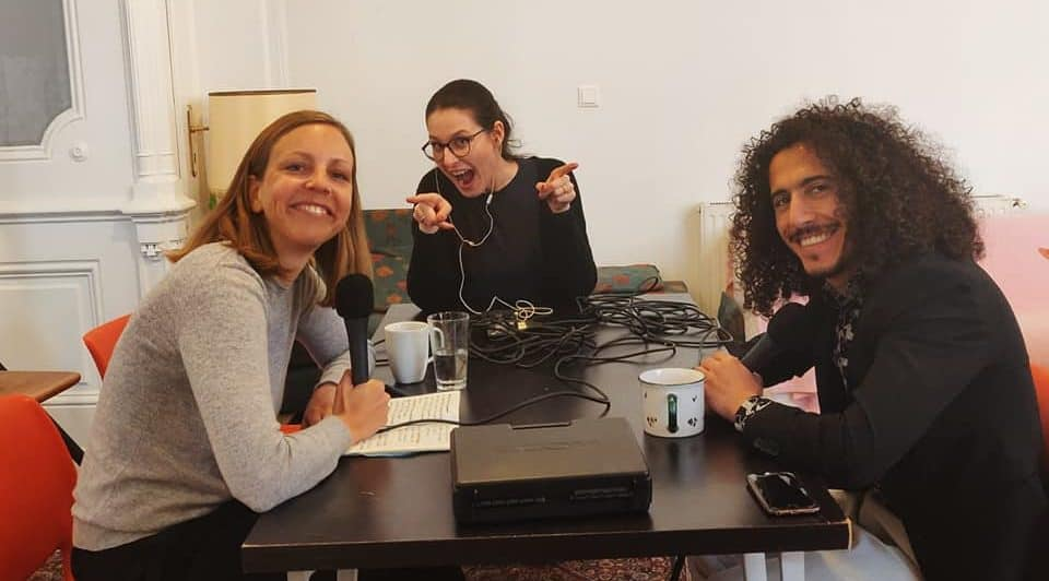 Podcast Salongespräche: Wie Österreich meine Heimat wurde mit Omar Khir Alanam