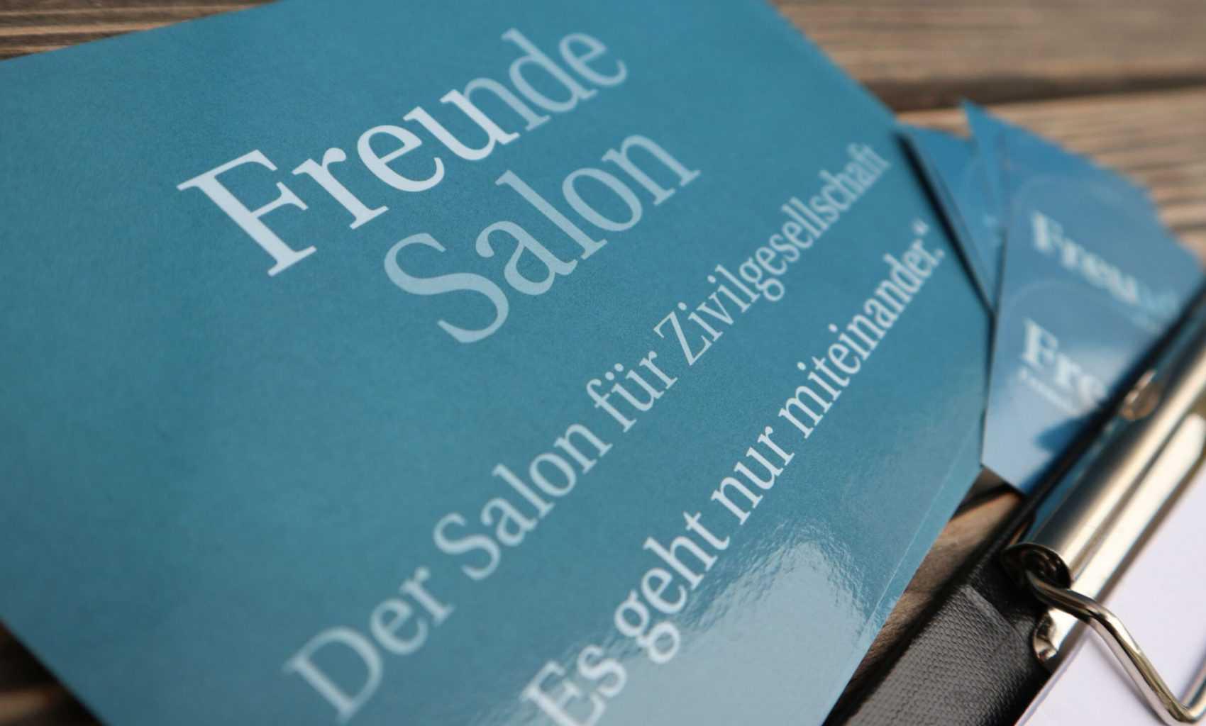 Freunde Salon: Events ab sofort online