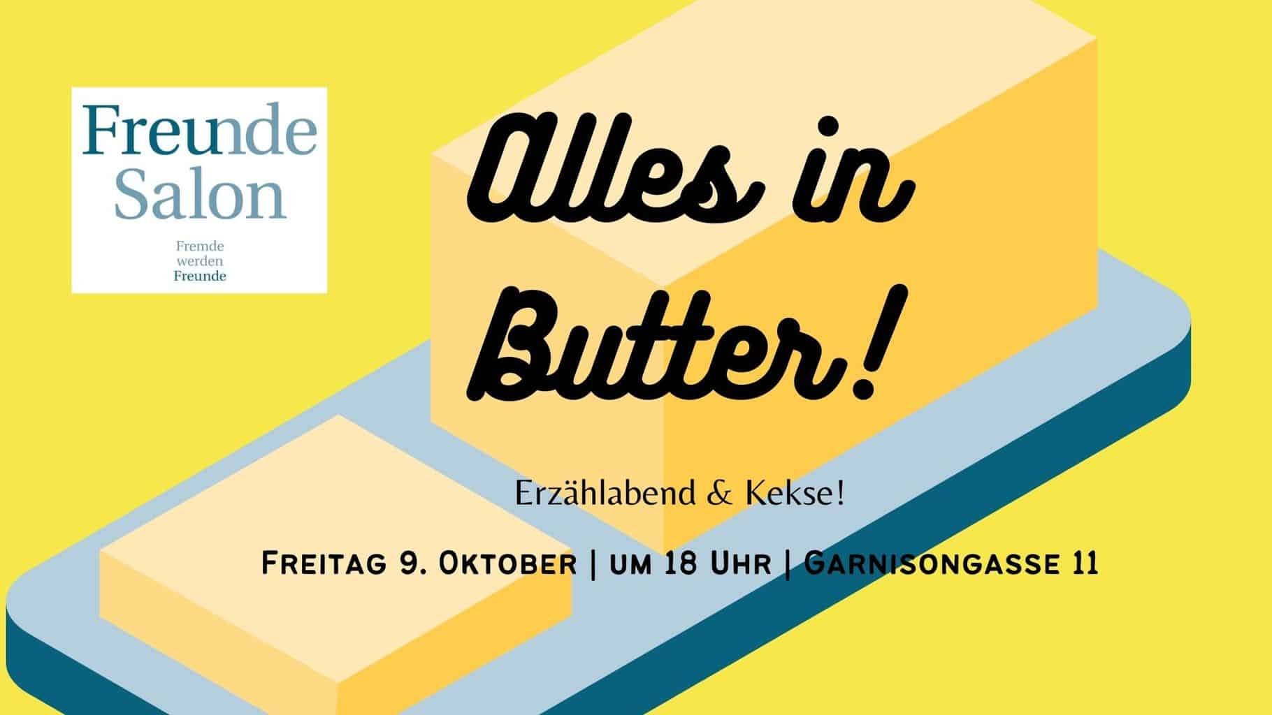 """09.10. – Erzählabend """"Alles in Butter!"""""""