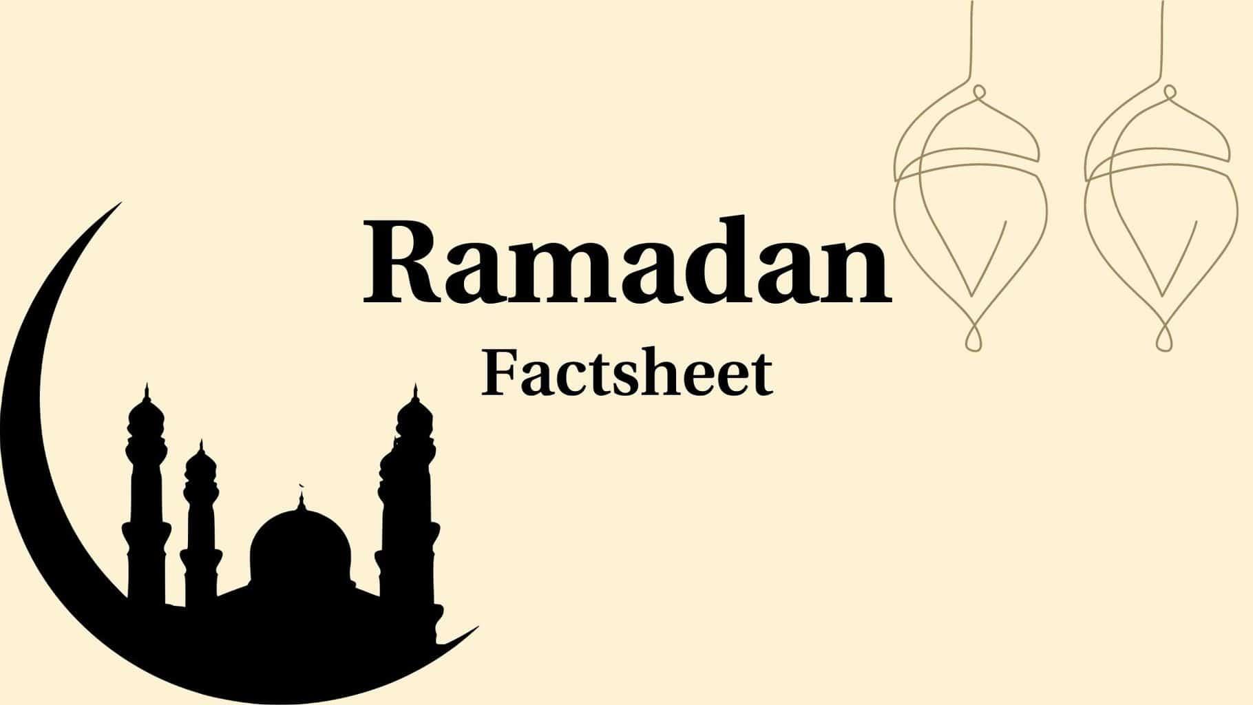Ramadan-Factsheet